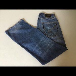 Ed Hardy Jeans Christian Audigier Distressed